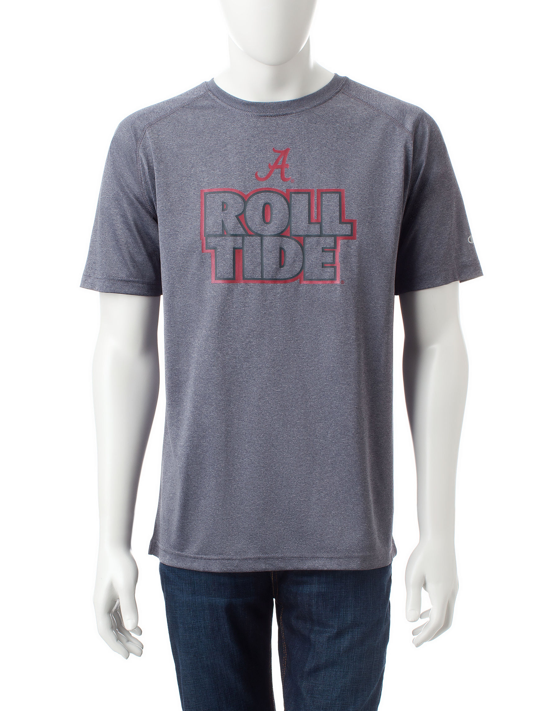 NCAA Gray Tees & Tanks NCAA