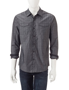 Signature Studio Grid Print Shirt