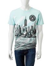 Zoo York Harbor Striped Print T-shirt