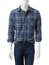 DC Shoes Atlas Plaid Flannel Woven Shirt