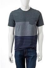 Ocean Current Color Block T-shirt