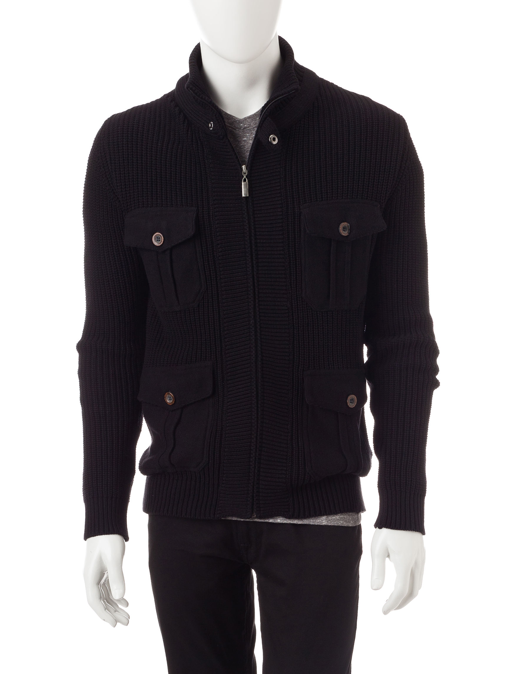 Signature Studio Black Sweaters