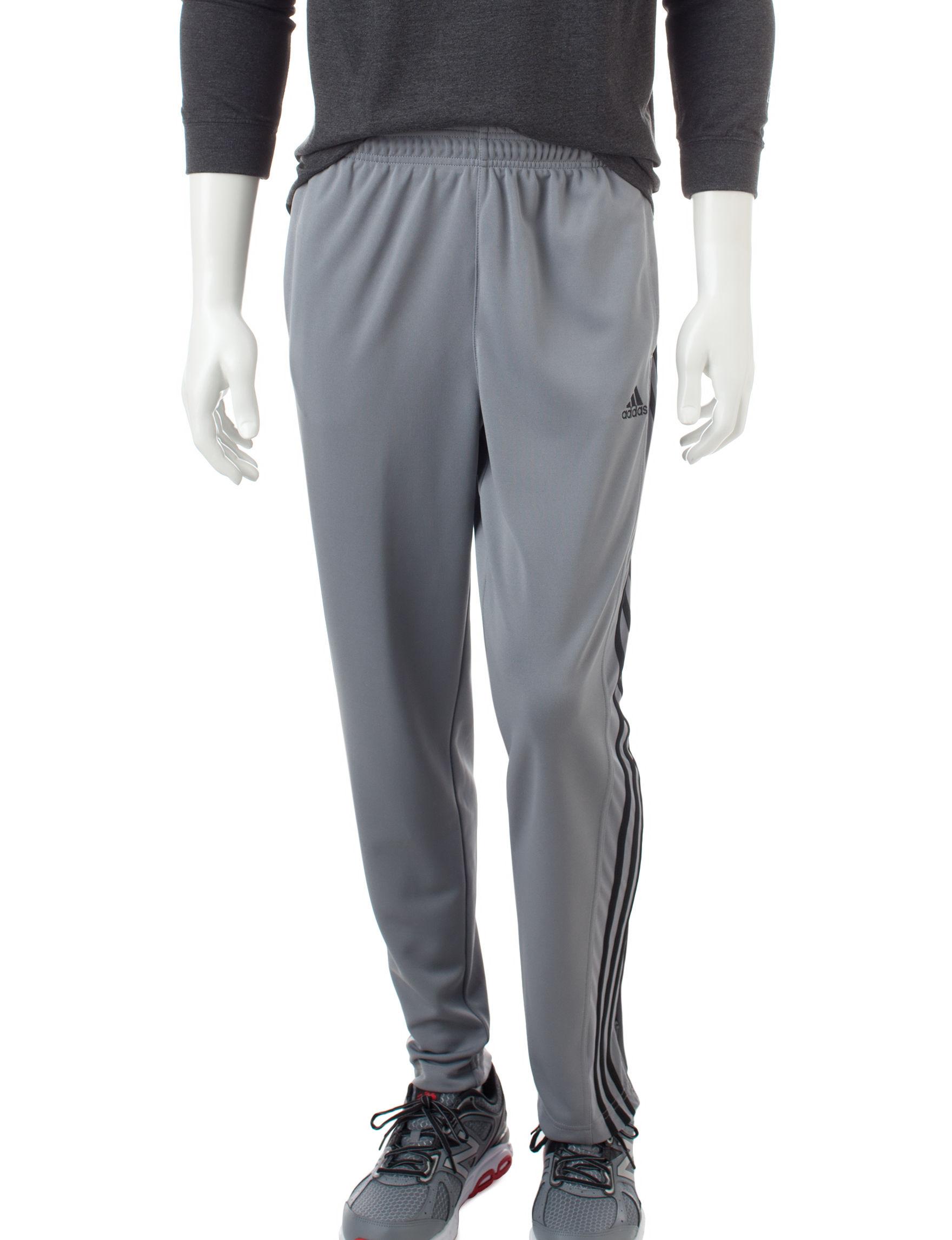 Adidas Grey / Black Tapered