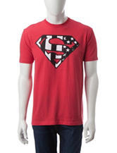 DC Comics Superman Flag T-shirt