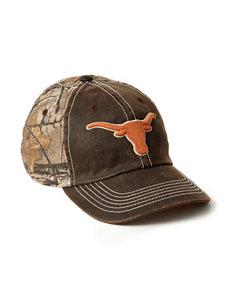 University of Texas Duck Wax Camo Cap