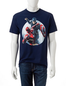 Marvel Captain America & Iron Man T-shirt