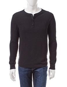 Calvin Klein Waffle Henley Shirt