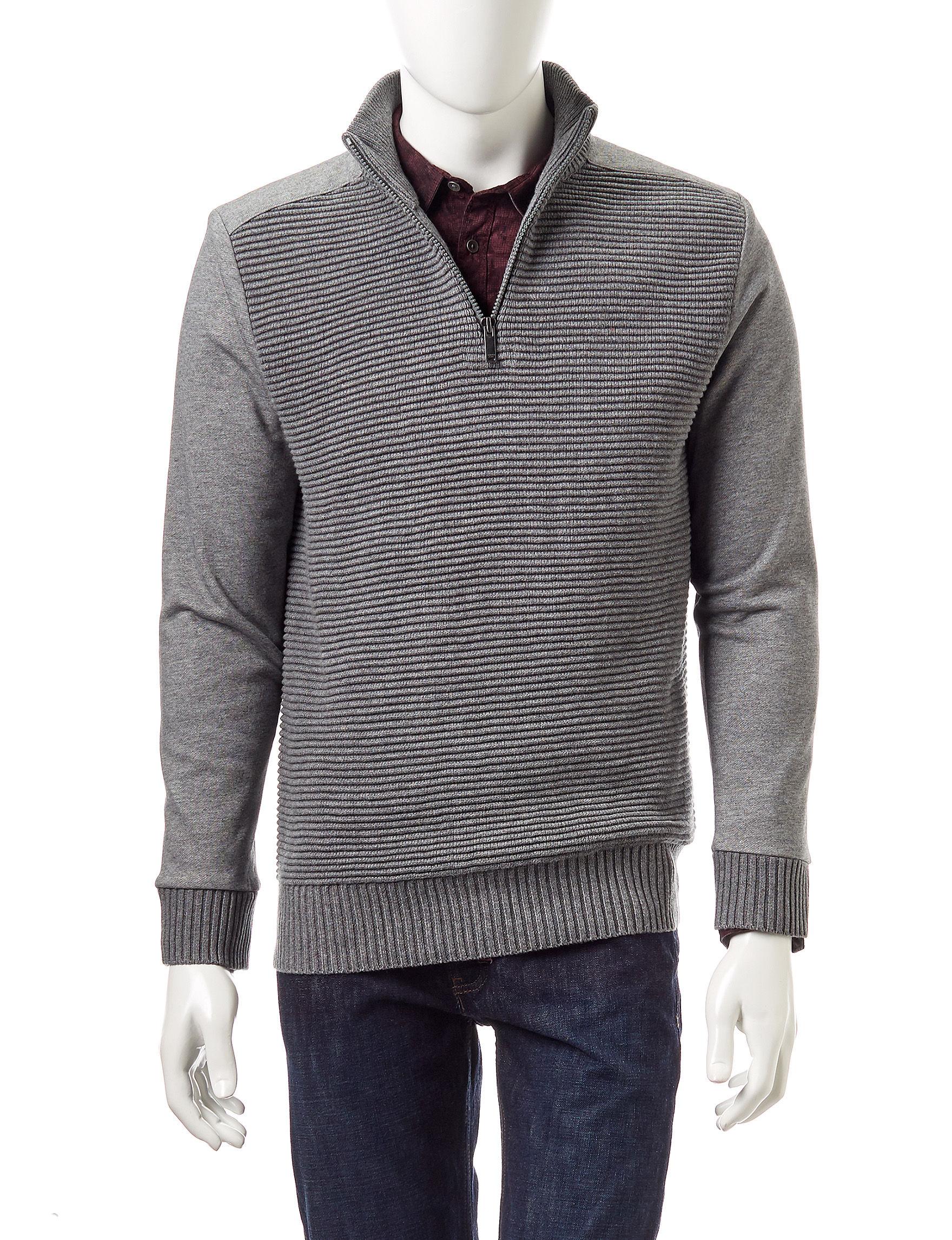Calvin Klein Grey Sweaters