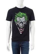 DC Comics Joker Text Face T-shirt
