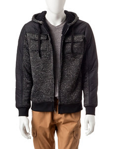 Signature Studio Textured Zip Hoodie