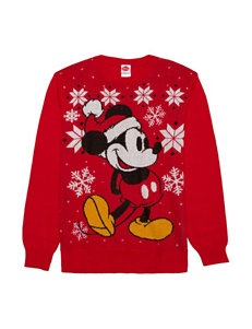 Mickey Santa Christmas Sweater