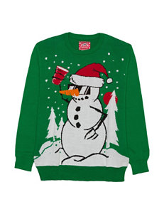 Cheers Snowman Ugly Christmas Sweater