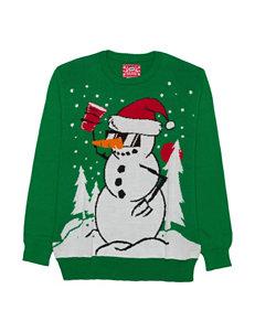 Hybrid Kelly Green Sweaters