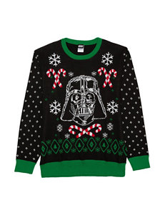 Darth Vader Candy Cane Christmas Sweater
