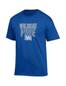 NCAA Blue Tees & Tanks NCAA