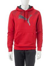 Puma® Red Performance Hoodie