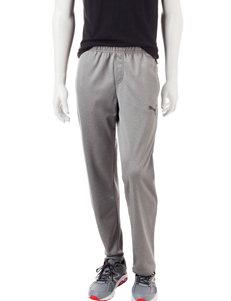 Puma® Grey Performance Fleece Pants