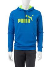Puma® Blue Performance Hoodie