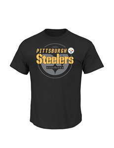 NFL Black Tees & Tanks NFL