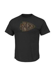 Kansas City Chiefs Camouflage Print T-shirt