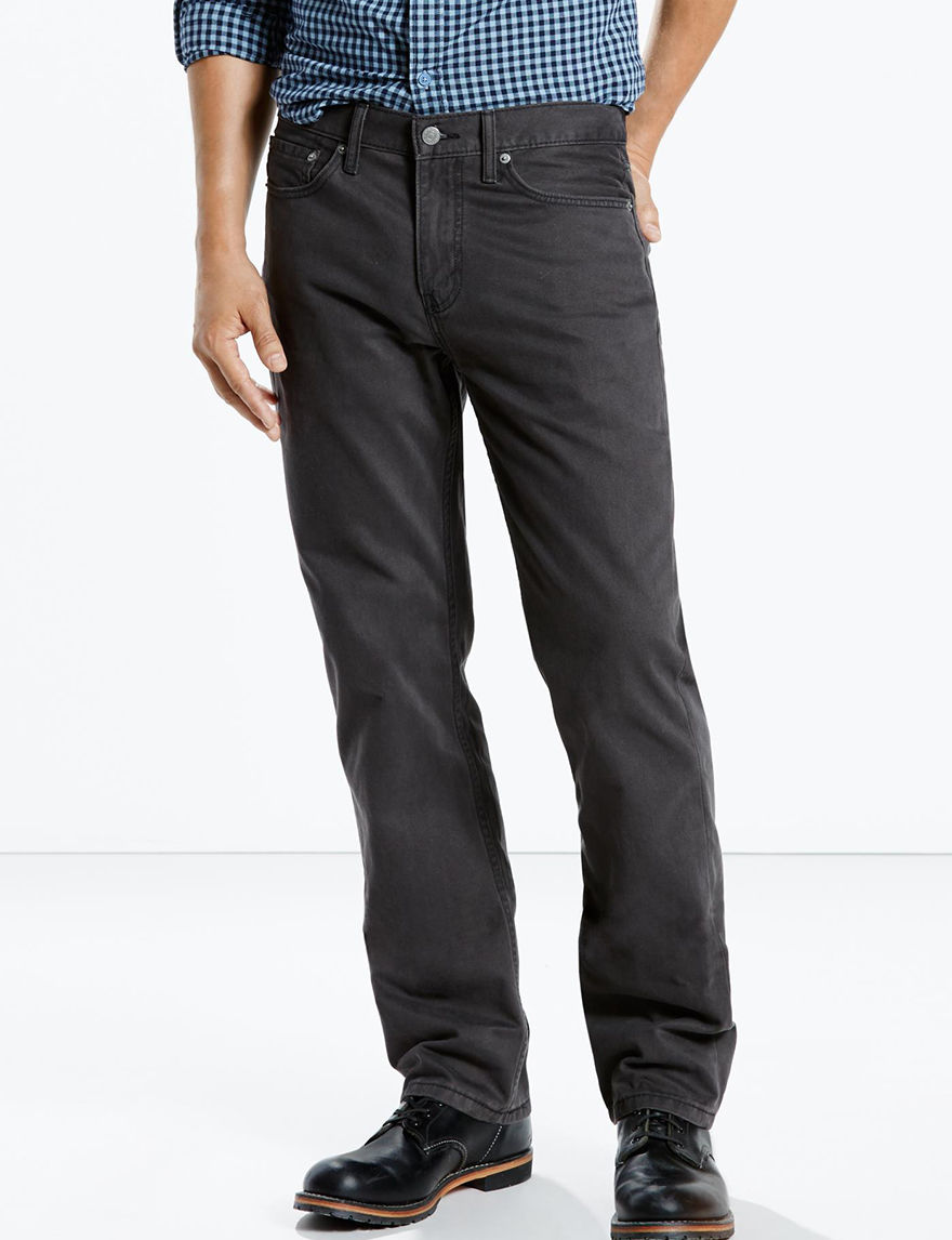 Levi's Twill Graphite Straight