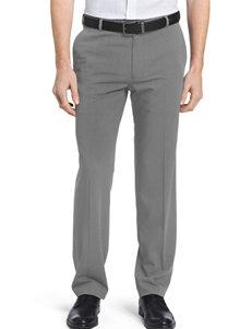 Van Heusen Grey Flex Flat-Front Dress Pants