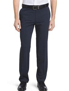 Ven Heusen Navy Flex Flat Front Dress Pants