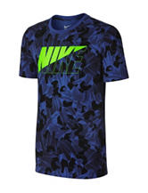 Nike® Mountains Camouflage Print T-shirt