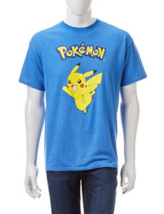 Pokèmon Pikachu Character Screen Print T-Shirt