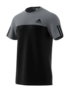 Adidas Grey Tees & Tanks