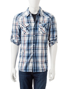 Buffalo Blu Sampson Plaid Woven Shirt