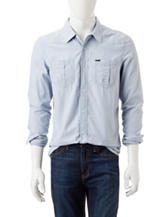 Buffalo Blu Sanler Hairline Striped Print Shirt