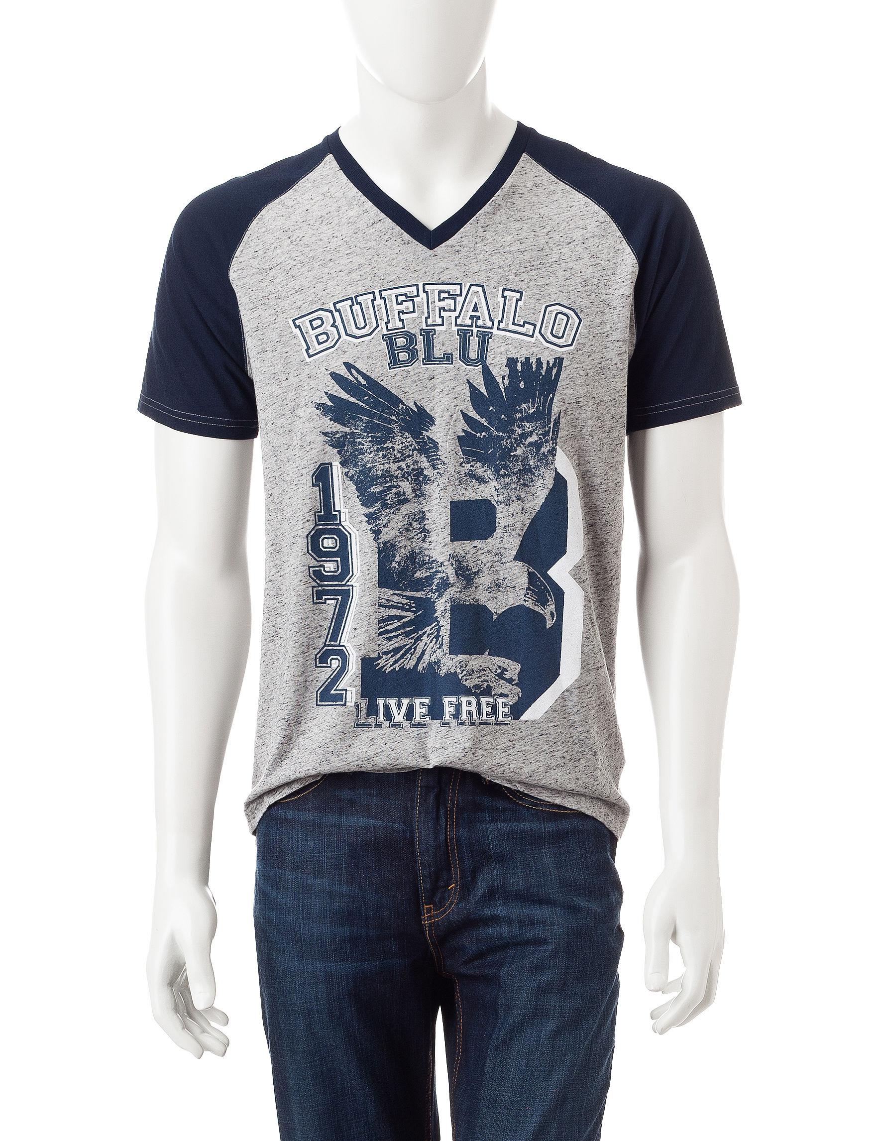 Buffalo Blu Grey / Navy