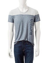 Buffalo Blu Nadisson Color Block Knit Shirt