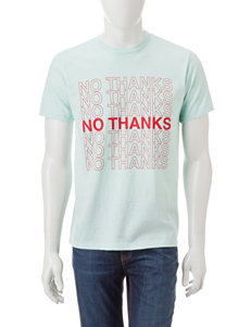 Ocean Current No Thanks T-Shirt