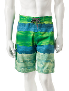 Ocean Current Green Swimsuit Bottoms