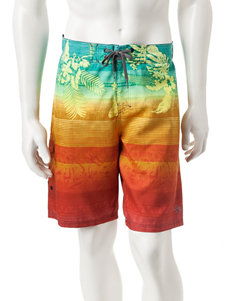 Ocean Current Orange Swimsuit Bottoms
