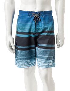 Ocean Current Blue Swimsuit Bottoms