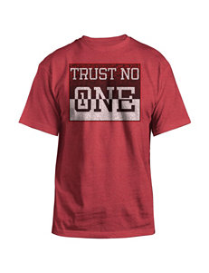 Hybrid Red Trust No One Shirt
