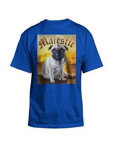 Hybrid Blue Majestic Pug Shirt