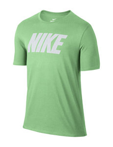 Nike Green Tees & Tanks