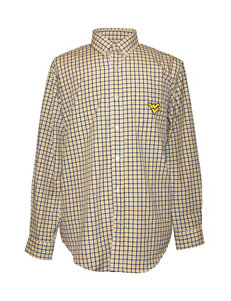 West Virginia University Gingham Shirt