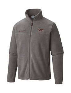 Columbia Virginia Tech University Full Zip Fleece Jacket