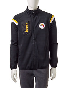 NFL Pittsburgh Steelers Zip Front Track Jacket