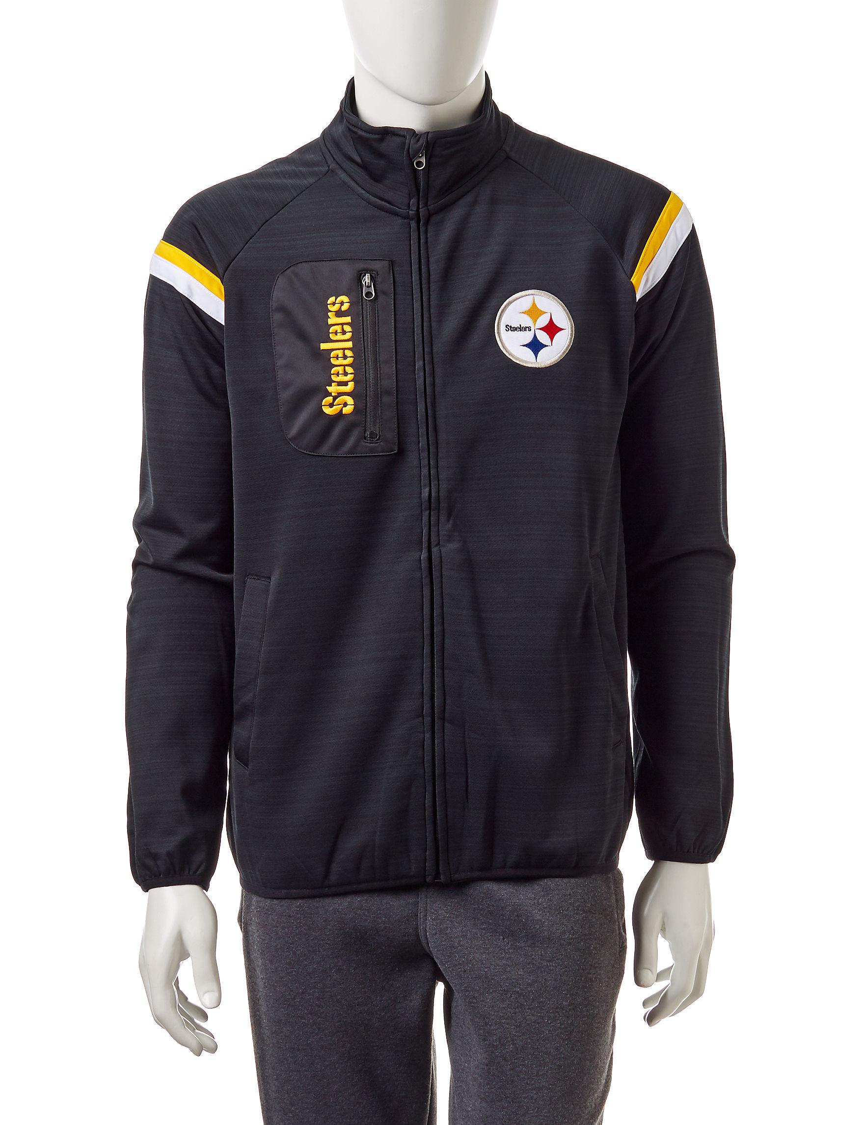 NFL Dark Grey Zip-Ups NFL
