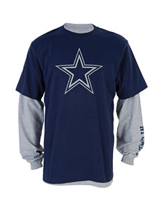 NFL Dallas Cowboys Layered-Look T-Shirt