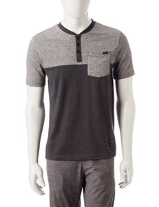 Marc Ecko Grey Henleys
