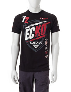 Ecko Black Tees & Tanks
