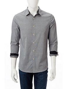 Axist Black Casual Button Down Shirts