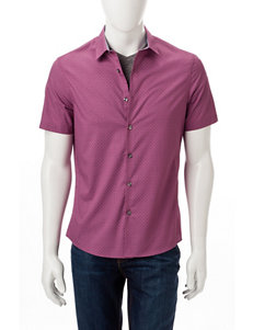 Axist Pink Casual Button Down Shirts